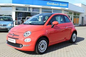 Fiat 500 1.2 Lounge *Klima +7'HD+Android/Apple Car *